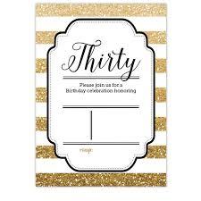 free printable gold glitter 30th birthday invitation dolanpedia