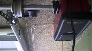 liftmaster jackshaft garage door opener liftmaster lm 8500 ceiling mounted rear torsion low headroom king