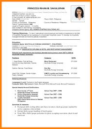Resume Format Download Doc File Cv Format Doc File Professional Resumes Sample Online