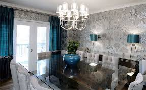 Wallpaper For Dining Room by Wallpaper For Dining Room Home Design And Decoration Portal