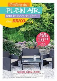 cuisine bricomarche salon de jardin bricomarché calaméo salon de jardin pont