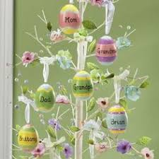 Easter Decorations For A Tree by Easter Tree With 21 Symbols Of Easter Inside This Is A Great