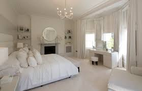 Bedroom Mirror Designs Furniture Glamor White Bedroom Decoration Using White Bed Sheet