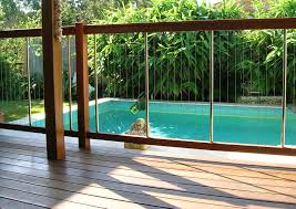 Backyard Landscaping With Pool by Enchanting Pool Fence Design Ideas With Modern Architecture With