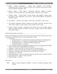 Sample Of Resume In Australia by Download Peoplesoft Administration Sample Resume