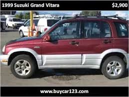 Muito 1999 Suzuki Grand Vitara Used Cars Vancouver BC - YouTube &DN64