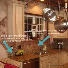 How To Do A Kitchen Backsplash How To Work With Your Existing Granite When Updating Your Kitchen