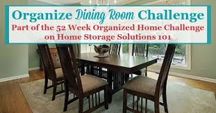 Dining Room Storage Furniture How To Organize Dining Room