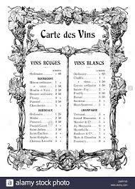 gastronomy menu wine list vignette by a giraldon 1904