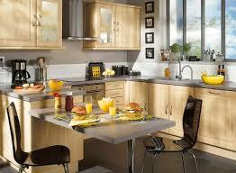 cuisine avec bar table cuisine conforama ouverte photo 12 25 avec une table bar très
