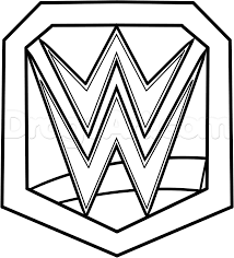 wwe championship belt coloring pages omeletta me