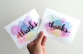 water color cards easy 5 minute diy watercolor greeting card recess