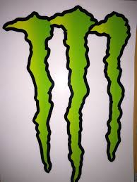 large huge monster energy drink decal sticker 11 75