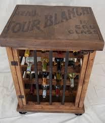 Kitchen Wine Cabinets Accessories Stylish Terminator Theme For Your Wine Rack Design