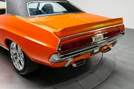 dodge challenger 1970 orange 1970 dodge challenger pearl orange 340 v8 cars zone