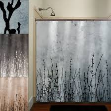 Shower Curtains With Trees Amazing Shower Curtains With Trees And Best Black Tree Shower