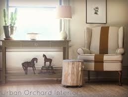 Custom Upholstered Dining Chairs Chairs Portfolio Hana Barley Tan Trellis Wingback Chair And