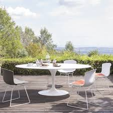 Outdoor Table Plastic Bertoia Plastic Side Chair Outdoor Knoll