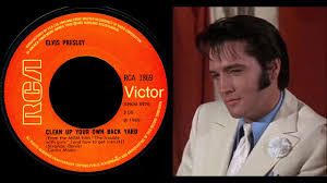 elvis presley clean up your own backyard from m g m u0027s
