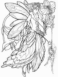 115 dessins de coloriage fée à imprimer