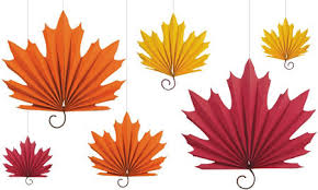 fall garland fall leaves garland 72in party city