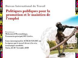 bureau international du travail 11 bureau international du travail politiques publiques pour la
