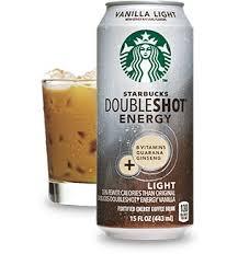 starbucks doubleshot vanilla light starbucks doubleshot energy vanilla light drink starbucks coffee