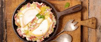 cuisine tartiflette tartiflette la recette originale montagnes