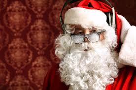 christmas glasses santa claus christmas glasses headphones wallpaper other