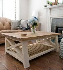 farmhouse style coffee table ax coffee table farmhouse style coffee table cream paint and wood