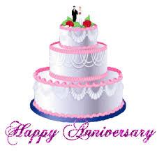 wedding cake gif happy anniversary animated gif free best happy