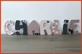lettre chambre bébé lettre pour chambre de bebe lettre décorative pour chambre bebe