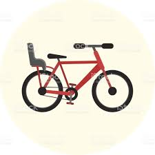 vélo avec siège bébé plat vélo avec siège bébé vélos avec siège pour enfant stock