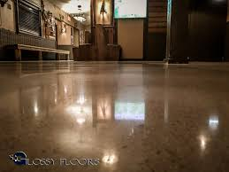 polished concrete floors montana mikes restaurant