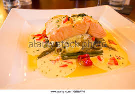 Asparagus Dishes Main Course - salmon fillet asparagus stock photos u0026 salmon fillet asparagus