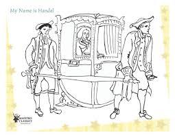 george frideric handel coloring page maestro classics