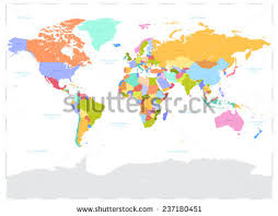 world map image with country names and capitals world map with country names stock images royalty free images