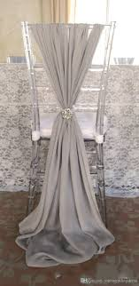wedding chair covers and sashes ivory chiffon chair sashes best home chair decoration