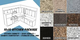 kitchen cabinets countertop packages kitchen cabinet granite package deal