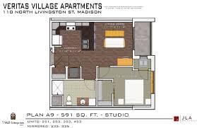 Madison Residences Floor Plan by Veritas Village Twe