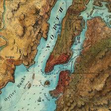 Maps Of New York by Revolutionary War Map Of New York 1776 77 Framed