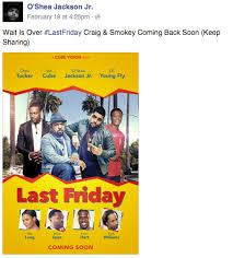 ice cube says there is no friday sequel in the works the latest