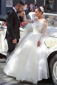princess wedding dresses sleeve lace princess wedding dress tulle 2018