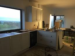 bespoke framed painted kitchen made in sheffield