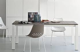 tavoli sala da pranzo calligaris tavolo allungabile baron 130 di connubia con piano in laminato o