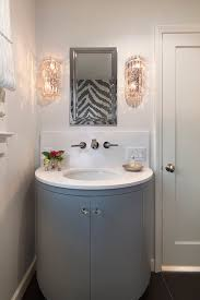 crystal sconces for bathroom half moon wall sconces design ideas