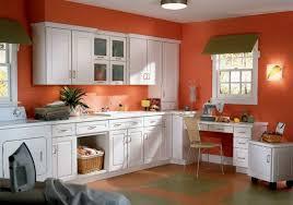 white kitchen cabinets orange walls 60 wall color ideas in orange naturinspirierte design for