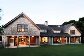 Shingle Style Home Plans Wainscott Main House Modern Shingle Style Architecture Hlbh