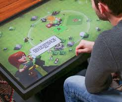 touch screen coffee table coffee table