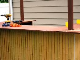Diy Backyard Pull Up Bar by How To Build A Tiki Bar How Tos Diy